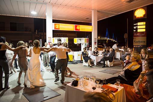Crisis wedding party