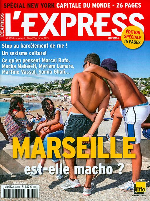 L'Express - Couverture régionale : Marseille est-elle macho ?