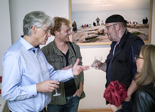 With Rainer Danne and Michael May © Gerhard Ruschkowski