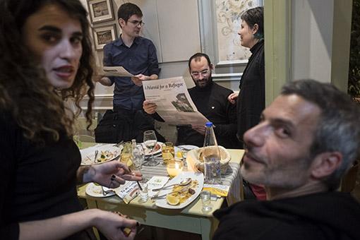 Dinner at Agrimia restaurant